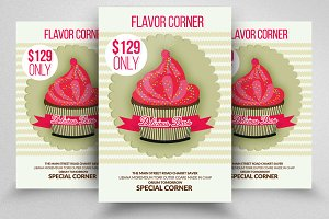 Ice Cream Business Flyer Templates
