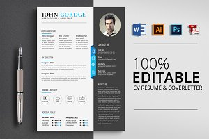 MS Word Format CV Resume
