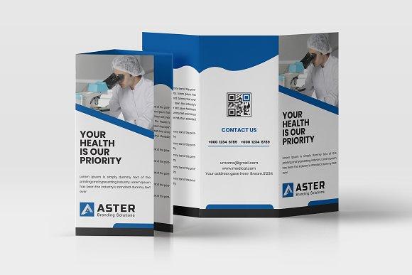medical trifold brochure brochure templates creative market