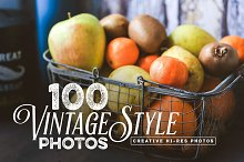 100 Vintage Style Photos