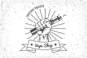 Vintage Emblem Pack  for Vape Shop