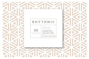 Rhythmic Seamless Patterns