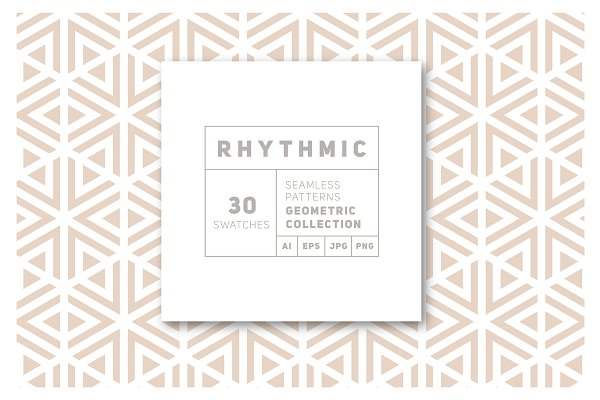 Patterns - Rhythmic Seamless Patterns