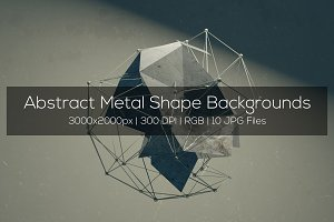 Abstract Metal Shape Backgrounds