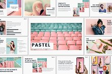 PASTEL - Powerpoint Template by  in Presentations
