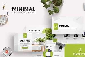 Minimal - Powerpoint Template