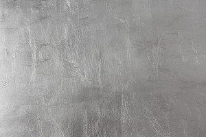 High-Res Silver Leaf Foil Texture