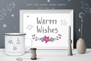 Warm Wishes Christmas collection