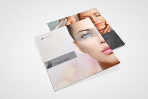 Beauty Salon Square Brochure