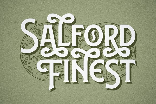 Display Fonts: Twicolabs Fontdation - Lansdowne