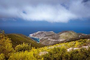 Porto Vromi on Zakynthos island