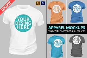 Apparel Mock-Ups Vol-7
