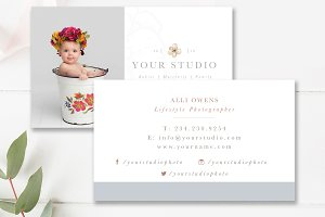 Lifestyle Photographer Business Card