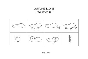 Weather Outline Icon