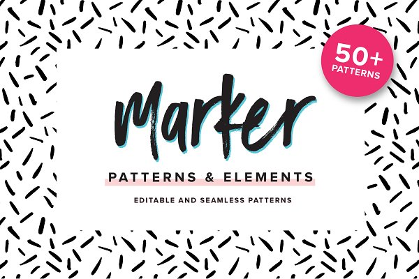 Patterns: Big Cat Creative - Marker Patterns & Elements