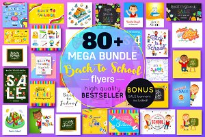 Back to School Big Bundle Flyers