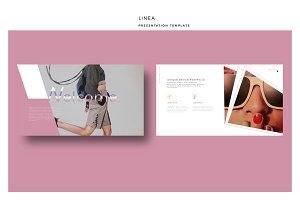 LINEA Premium Keynote Template