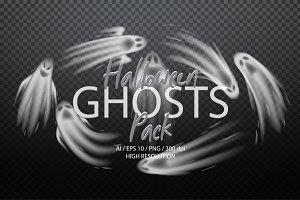 Halloween Ghosts Pack