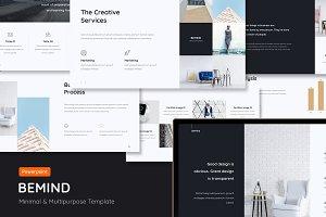 BeMind - Minimal & Creative Template