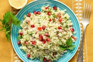 Arabic tabbouleh salad