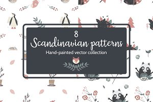8 Scandinavian patterns