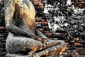 Buddha statue. Bangkok thailand