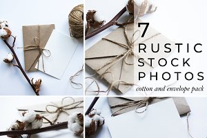 7 Rustic Stock Photos Mini Bundle