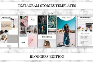 Instagram stories for Bloggers