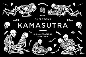 KAMASUTRA with skeletons