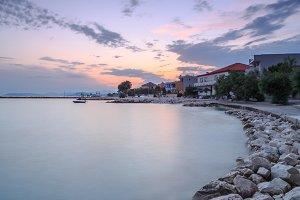 View on coastline in Croatia