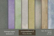 Vintage paper Textures II
