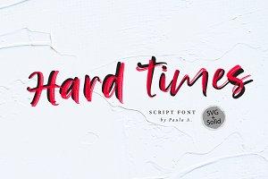 Hard Time | SVG Font