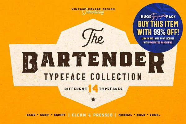 The Bartender Collection