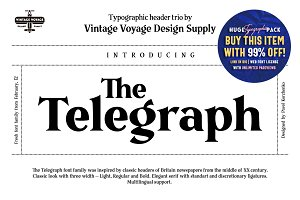 The Telegraph • Font Family