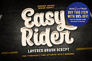 Easy Rider • -50% OFF