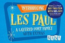 Les Paul • Font Family