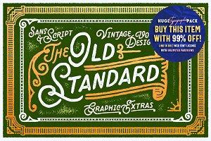 Old Standard • Sans & Script