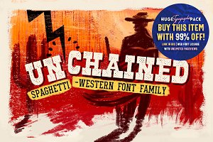 UN'CHAINED • Font Family