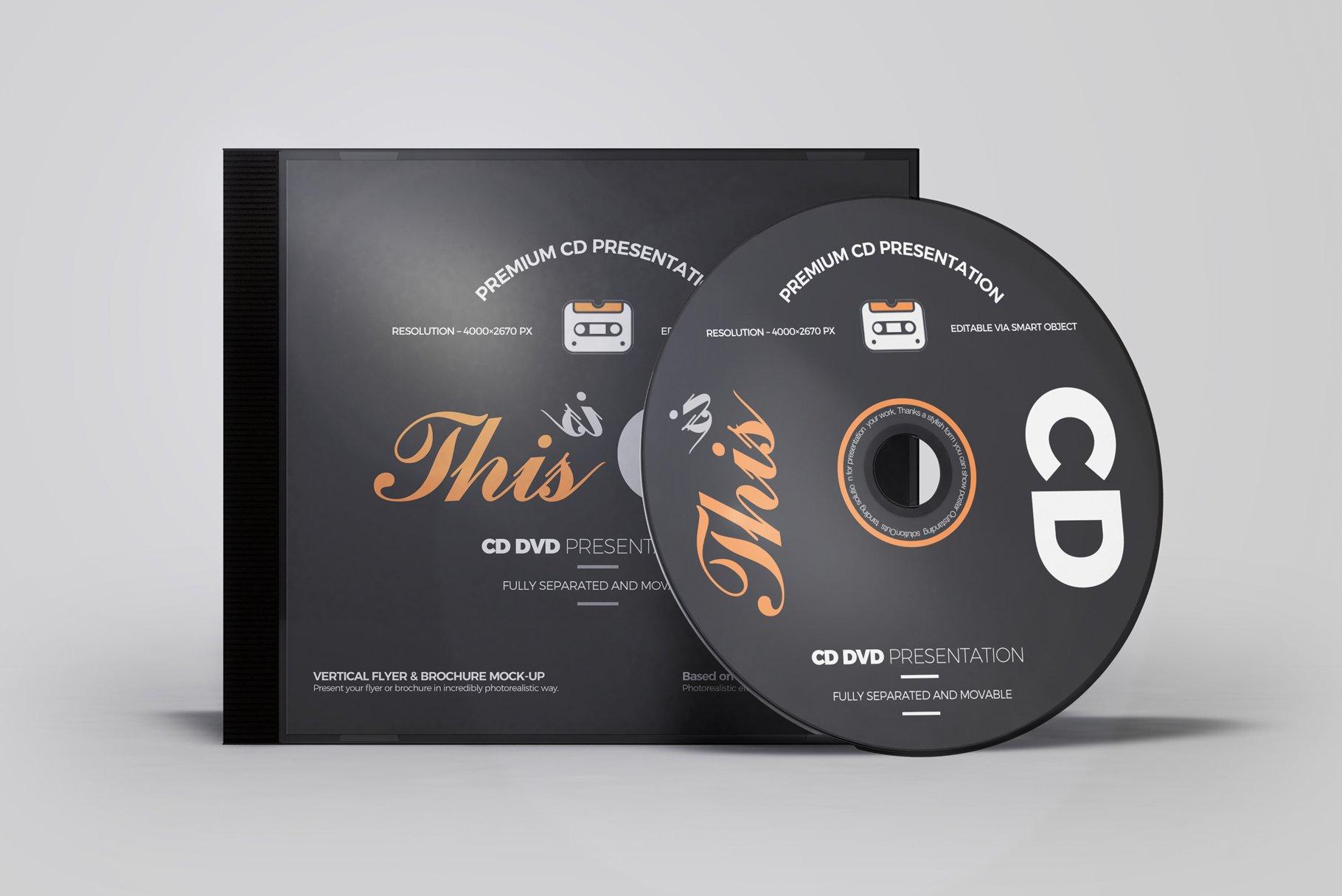 Cd Dvd Album Mock Up 6 Product Mockups Creative Market