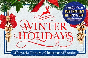 WINTER HOLIDAYS & Christmas Freebies