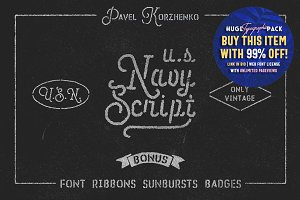 U.S.Navy Script • Freebies •