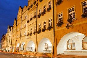Jelenia Gora Old Town Houses