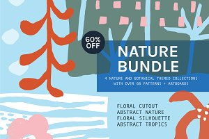 Nature Bundle Patterns | 60% Off
