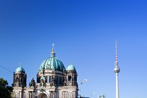 Berlin Cathedral & TV Tower, Berlin