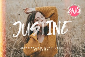 Justine SVG + SOLID
