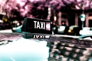 Vacant taxi detail