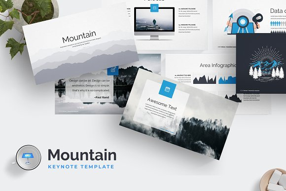 Mountain - Keynote Template