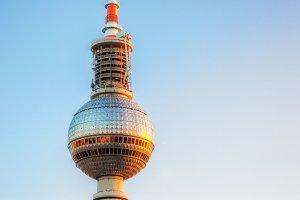 TV tower (Fersehturm), Berlin