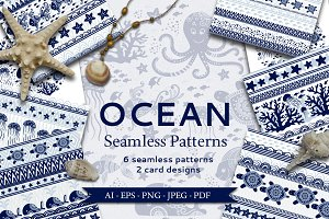 Ocean Seamless Patterns