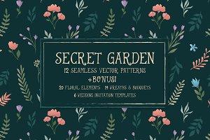 Secret Garden - Floral Collection